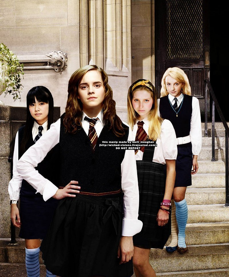 Préférence The Women of Harry Potter images glee style HD wallpaper and  HG03