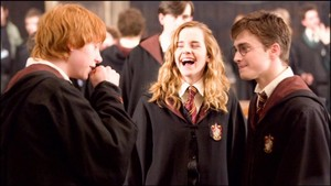 hermione laughing