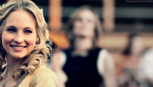 Caroline Forbes wallpaper containing a portrait titled i was forced to name this