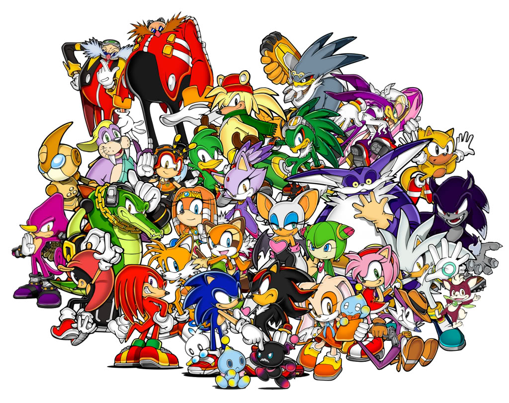 Sonic Images In His World One Is All Hd Fond D Ecran And