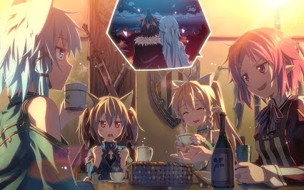 Sword Art Online wallpaper entitled jealousy.....^^