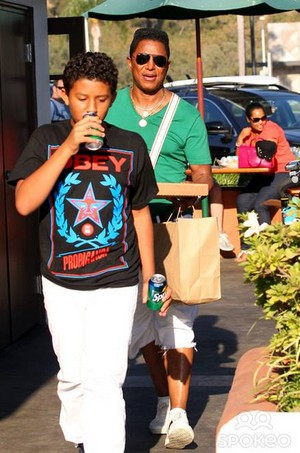 jermajesty and his father jermaine