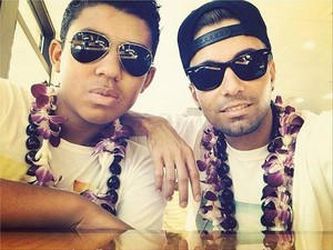 jermajesty and omer in hawaii