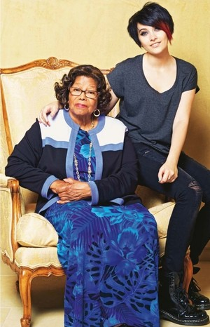 katherine jackson and paris jackson