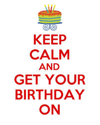 keep calm birthday