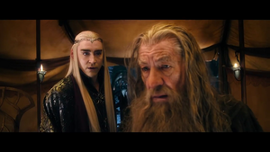 king thranduil and gandalf