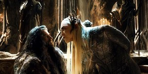 king thranduil and thorin