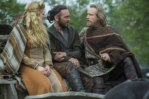 lagertha with ecbert and athelstan