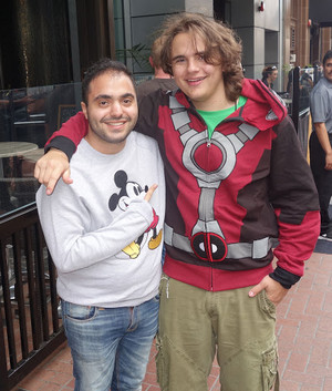 prince jackson with a peminat