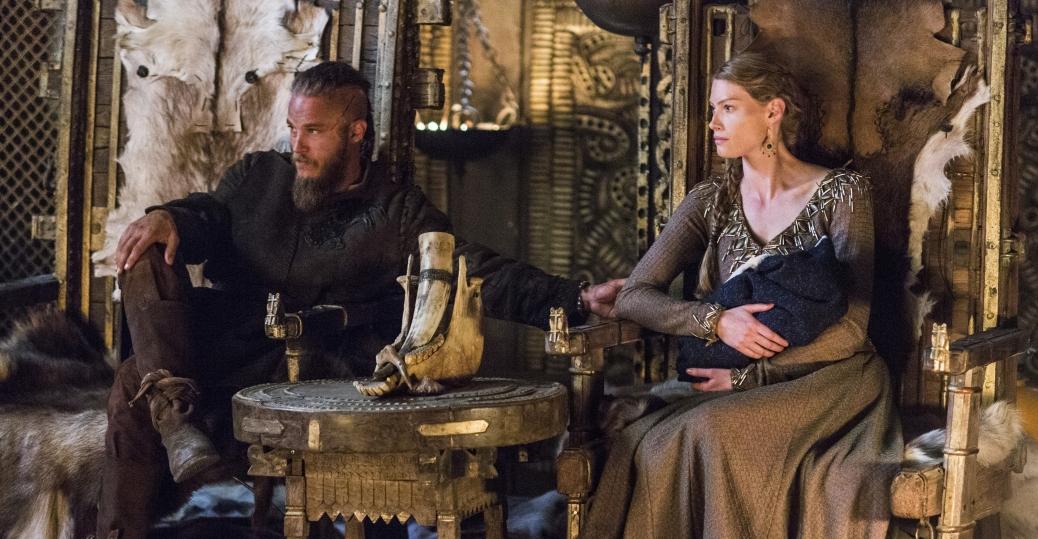 Картинки по запросу Ragnar Lodbrok and Princess Aslaug