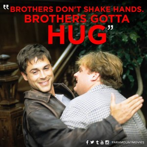 rob lowe and chris farley in tommy boy