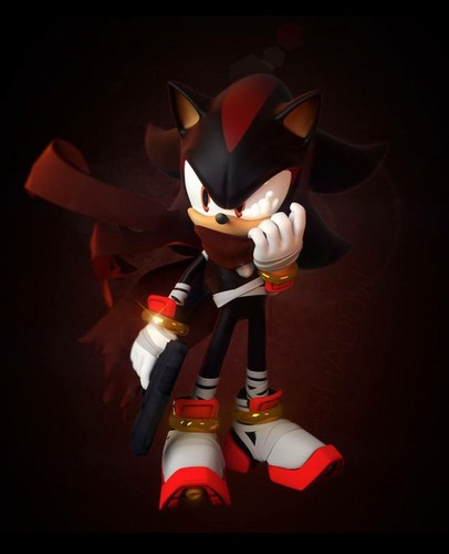 Shadow The Hedgehog images shadow boom with gun HD ...