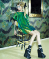 taylor in green  - taylor-swift photo