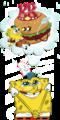 the krusty krab patty queen - spongebob-squarepants photo