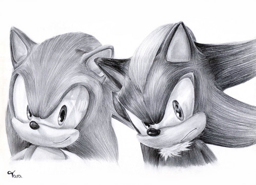 Shadow The Hedgehog wallpaper entitled this is nice version of drawing
