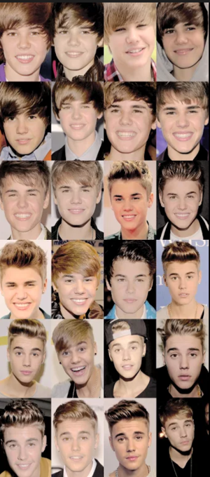 watching my idol grow and growing with him