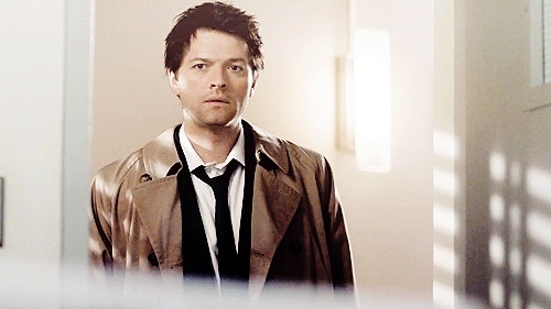 Castiel wallpaper probably containing a well dressed person, an outerwear, and a box coat entitled ✧ Castiel ✧