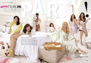 'It's an SNL Slumber Party' - Cosmopolitan, May 2014 [1]