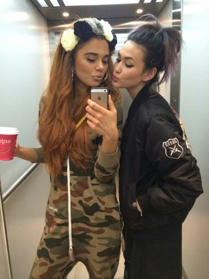 Jess and Asami