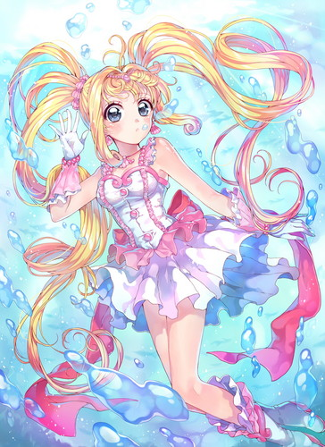 Mermaid Melody – Pichi Pichi Pitch fond d'écran containing animé called ✿ Luchia Nanami ✿