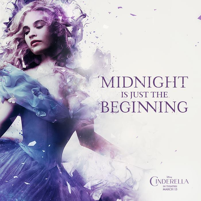 Cinderella 2015 Images Midnight Is Just The Beginning Wallpaper