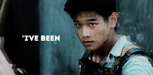 The Maze Runner Hintergrund possibly with a sign called Minho