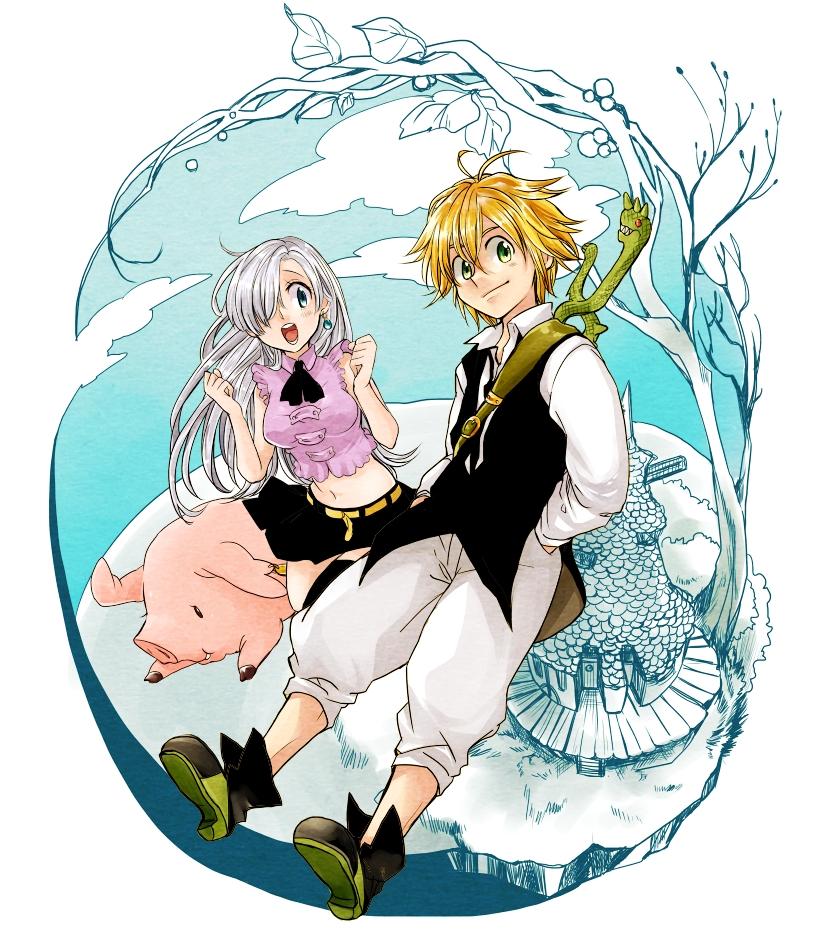 The Seven Deadly Sins Pig: ººNanatsu No Taizaiºº