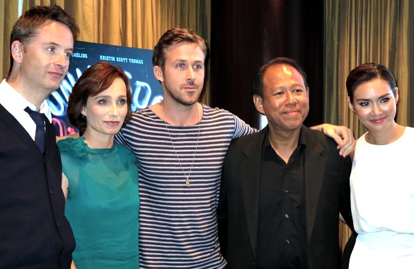 """Only God Forgives"" cast"