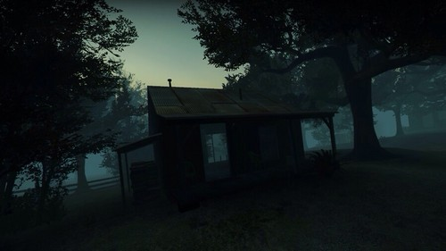 left 4 dead 2 wallpaper containing a live oak, a bungalow, and a hip roof entitled   Swamp Fever