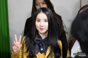 150211 Eunha @ SOPA graduation ceremony