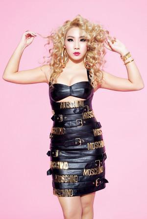 2NE1 CL – Complex Magazine February Issue '15