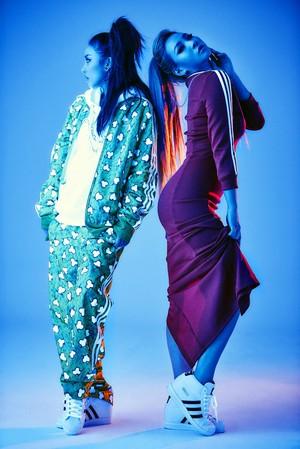 2NE1 Dara and CL for Adidas 2015
