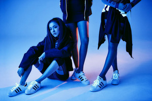 2NE1 Dara for Adidas 2015