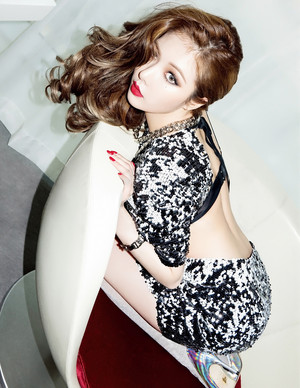 4Minute hyuna – CéCi Magazine March Issue '15