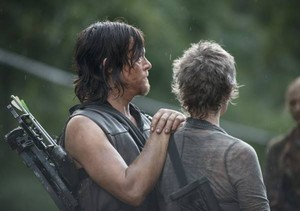 5x10 Them: Behind the Scenes ~ Melissa and Norman