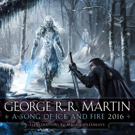 A Song Of Ice And feu - 2016 Calendar - Cover