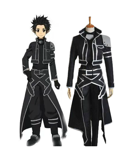 Sword Art Online wallpaper called ALfheim Online Kirito Spriggan Cosplay Costumes
