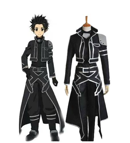 sword art online fondo de pantalla titled ALfheim Online Kirito Spriggan Cosplay Costumes