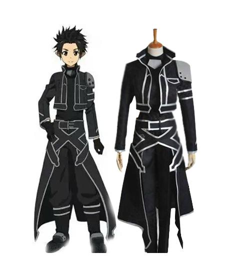 ALfheim Online Kirito Spriggan Cosplay Costumes