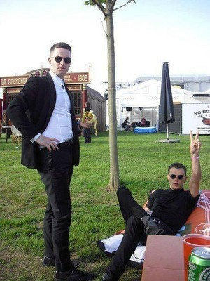 Adam Anderson and Theo Hutchcraft
