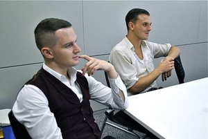 Adam Anderson and Theo Hutchcraft