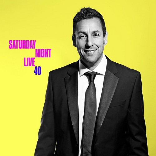 Adam Sandler پیپر وال with a business suit, a suit, and a double breasted suit titled Adam Sandler @ SNL's 40th Anniversary Special