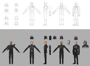 Agent Kallus Concept Art