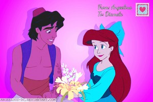Aladdin/Ariel Happy Valentine's Day!