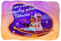 Aladdin Valentine's Day Card