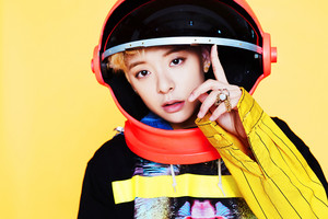 Amber – Concept photo For 'Beautiful'
