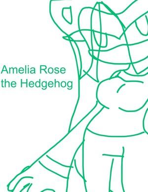 Amelia Rose the Hedgehog