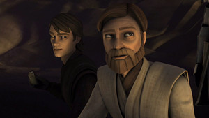 Anakin and Obi-Wan at the Citadel
