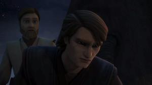 Anakin and Obi-Wan on Mortis