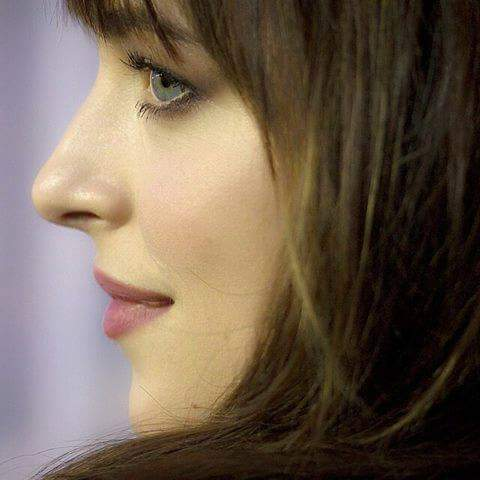 Fifty Shades Trilogy karatasi la kupamba ukuta containing a portrait entitled Anastasia Steele